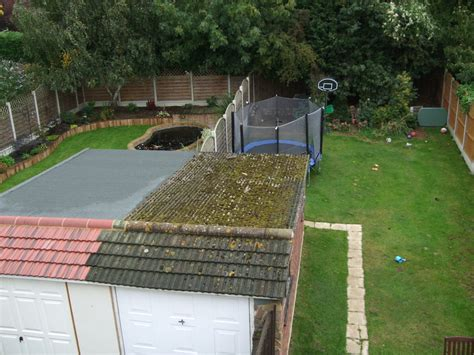 Replacing A Flat Garage Roof by Garage Flat Roof Replacement Roofing In Billericay