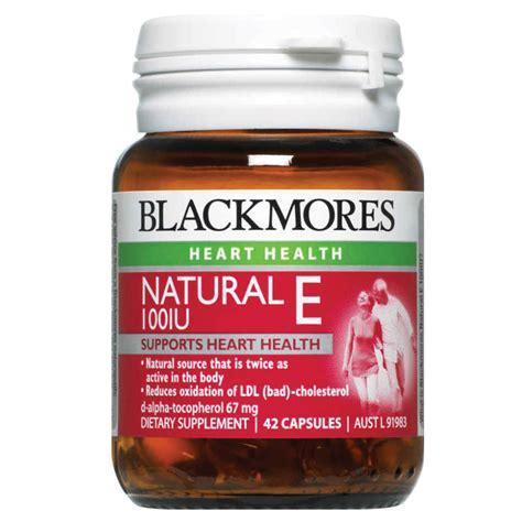 Blackmores Vitamin E Blackmores Vitamin E 100iu 42 Capsules Chemist
