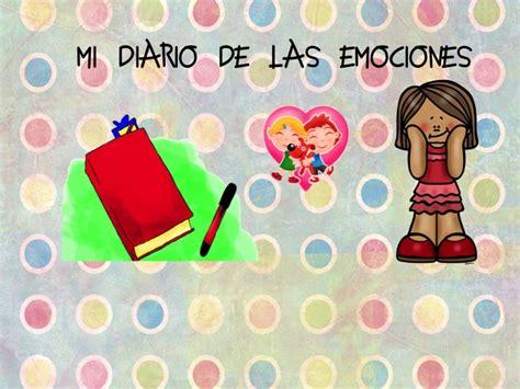 diario de las emociones mi super diario de las emociones1 orientaci 243 n and 250 jar recursos educativos