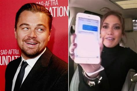 News Leo Tom And Jlo by Says Leonardo Dicaprio Was A Great Sport