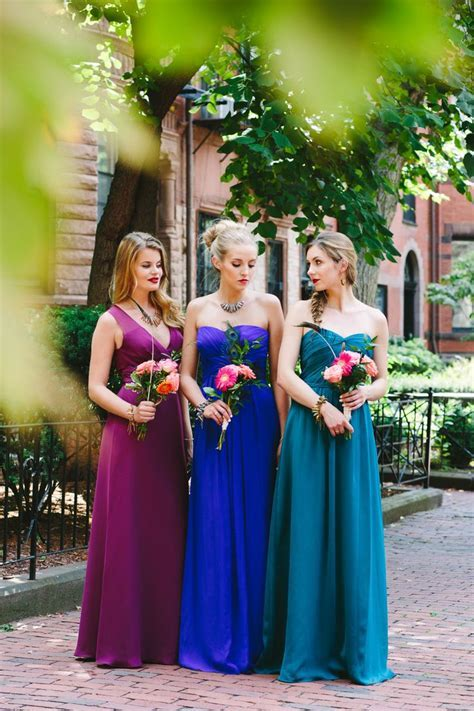 jewel tone bridesmaid dresses flatter almost any skin tone