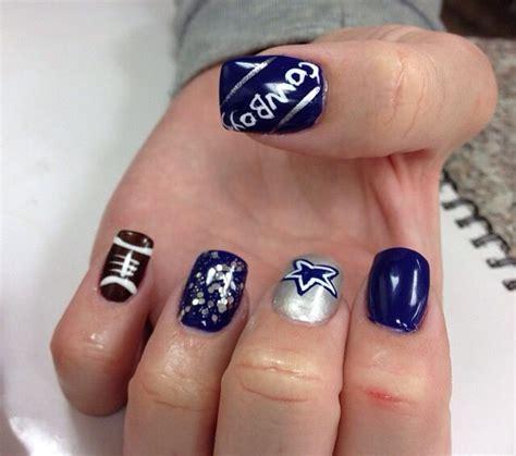 Cowboys Nail Designs