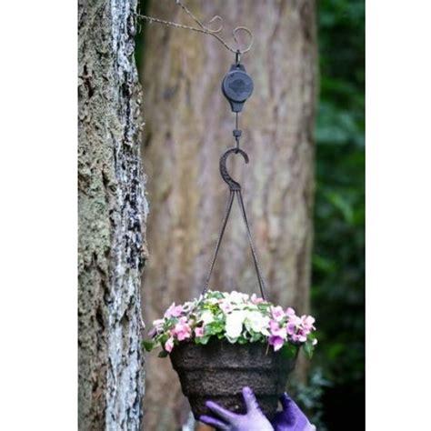 Bunga Acrylic Pot 2 easy reach flower pot hook hanger gantungan pot bunga black jakartanotebook