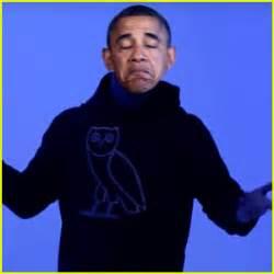 Barack obama sings drake s hotline bling barack obama drake