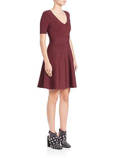 rib knit fit flare dress fit flare dress flare dress dresses