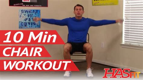 10 min chair workout for seniors hasfit seated exercise for seniors chair exercises for