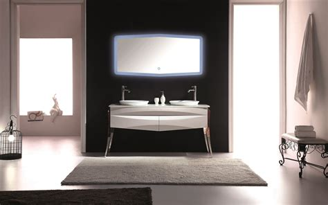 kube riso 64 quot modern double sink bathroom vanity white