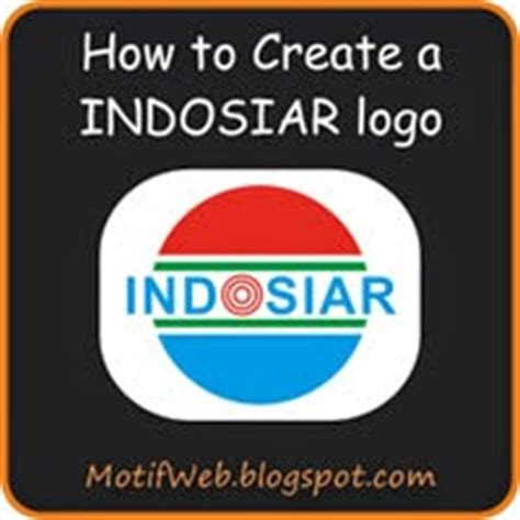 tutorial buat logo indosiar cara membuat logo indosiar dengan coreldraw 171 motif web