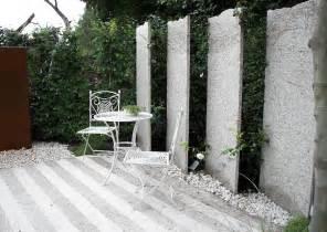 gartengestaltung mit sichtschutz sichtschutz am sitzplatz im garten sichtschutz und