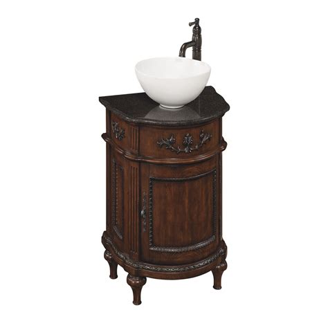 Small Bathroom Vanity With Sink Lowes Shop Style Selections Vinton Vessel Single Sink