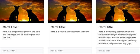 bootstrap layout cards bootstrap 4 card layout tutorial 187 webnots