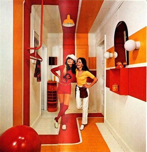 1970s interior design la publicit 233 pour les papiers peints dans les 233 es 70