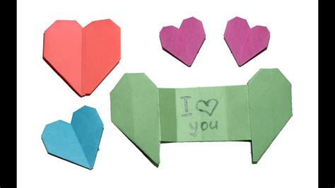 Secret Message Origami - origami with secret message diy and easy