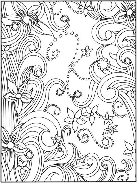 flower doodle coloring pages sujet 2 les coloriages dans le scrap langeduscrap