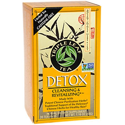 Medicinal Tea Detox Leaf Tea 20 Bag by Detox Tea 20 Bag By Leaf Teas At The Vitamin Shoppe