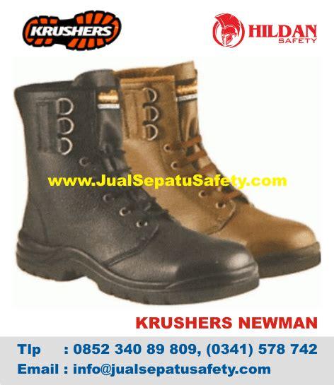 sepatu krushers pdl boots safety tinggi bertali