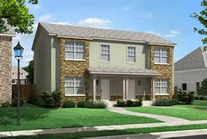Duplex Housing Bridgeport Duplex Townhouse Style Modular Homes
