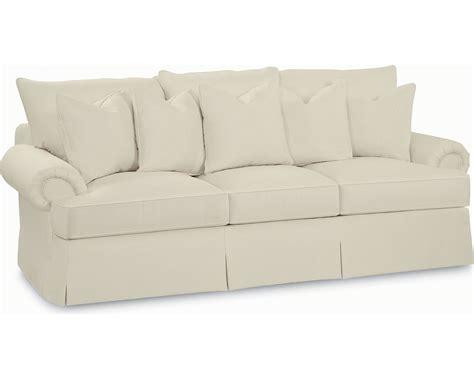 portofino sofa portofino large sofa panel arm skirted thomasville