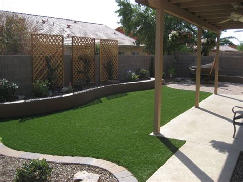 Landscaped Backyard Ideas Landscaping Az Swimming Pool Landscape Services Tucson Backyard