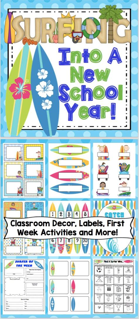 new year ideas school 17 best images about surfing theme classroom on
