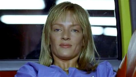 uma thurmans hair in kill bill hd photo uma thurman as the bride in kill bill 2003
