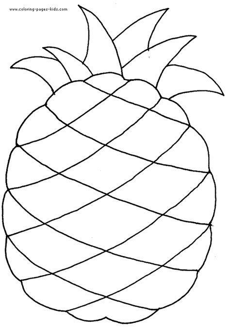 fruit templates free coloring pages of fruits