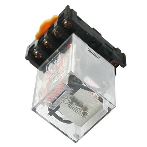 Soket Rilay Mk2p 8pinsoket 8pin mk2p i ac 110v coil 8pin dpdt power relay with in terminal socket cp ebay