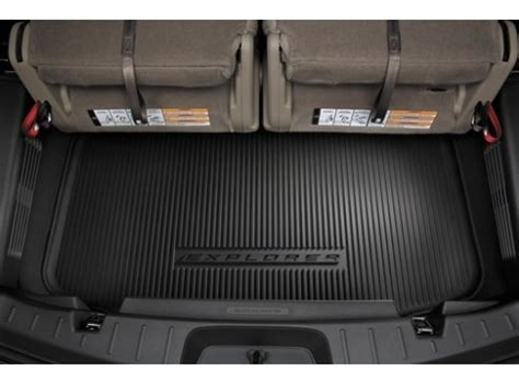 2011 ford edge 3rd row seating cargo area protector for 3rd row seat the official