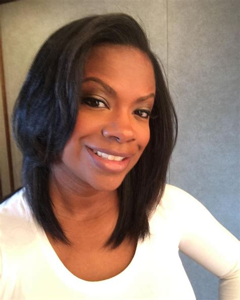 kandi burruss hair line kandi burrus is taking a weave break
