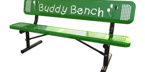 the buddy bench the awesome foundation buddy s bench