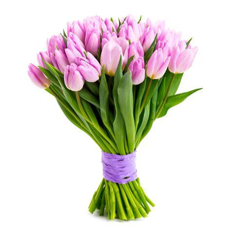 fiori tulipani bouquet di tulipani rosa fiorionline it