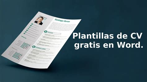 Plantilla De Curriculum Vitae En Word 2010 plantillas de curriculum word descargar 28 images