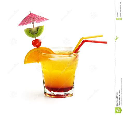 tequila cocktail stock image image of cherry
