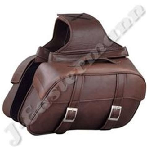 Handmade Saddlebags - convict custom cycles la raza black brown swingarm bags