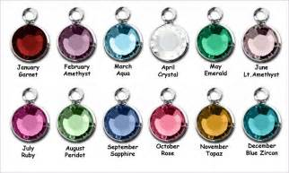 birthstone color for february birthstone by month