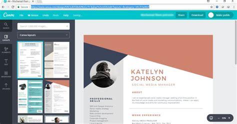 situs penyedia desain cv gratis  bikin lamaran