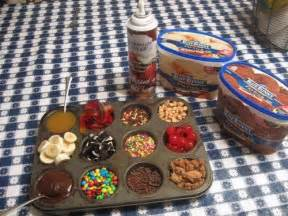Sundae Bar Toppings by Awesome Idea For Sundae Bar Display For My