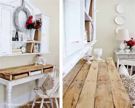 Bauideen Holz by Bauideen Mit Europaletten Schreibtisch Wandregal Und