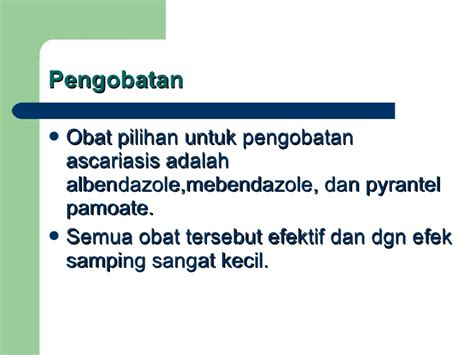 Obat Cacing Albendazole ascaris lumbricoides