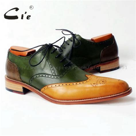 Handcrafted Shoes - cie bespoke shoe custom handmade brogues lace up