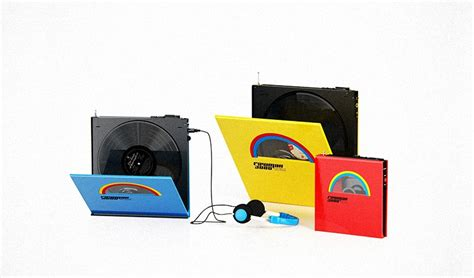 Portable Album In Concept Device by Rocket And Wink S Portable Vinyl Player
