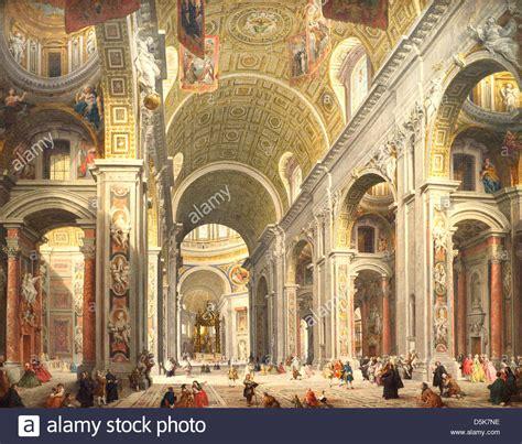 basilica san pietro interno paolo immagini paolo fotos stock alamy
