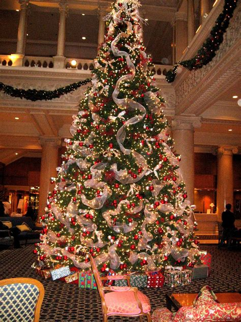 photo of the most beautifully decorated christmas tree lobby trees on lobbies hobby lobby and trees