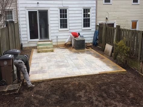 New Patio by Construction Of New Patio Hr Partners