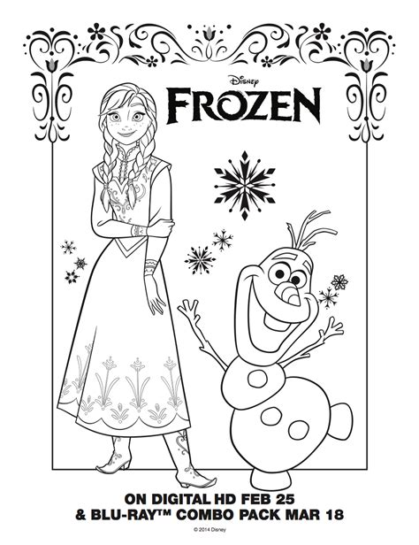 frozen ana free coloring pages is it for parties is