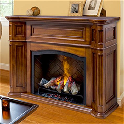 large electric fireplace mantel packages