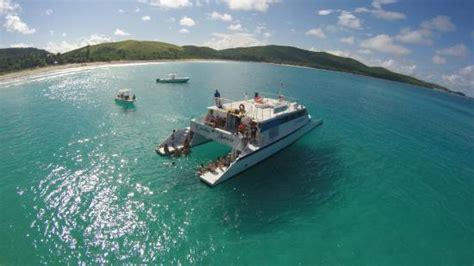 catamaran trips in fajardo pr best snorkeling and sailing trip pr picture of east