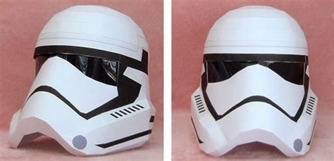 Stormtrooper Papercraft Helmet - papermau wars new stormtrooper wearable helmet