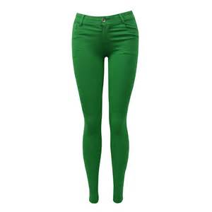 colored womens wholesale colored stretch slim fit j5