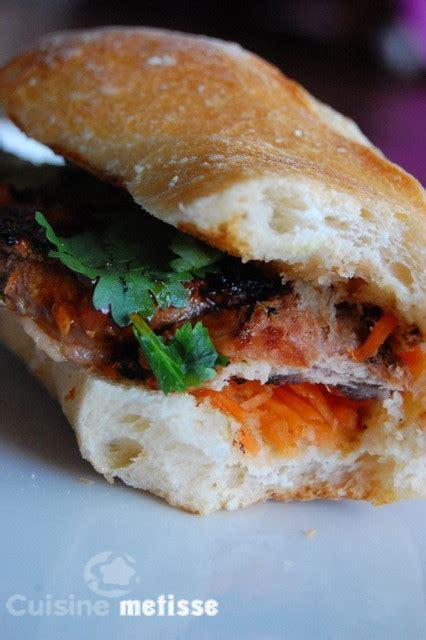 cuisine metisse banh mi sandwichs vietnamiens 224 la sauce cuisine m 233 tisse